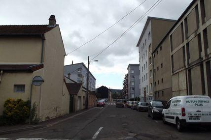 Quartiers Faubourg d'Arroux/Saint-Jean/Saint-André : la rue des Quatre Vents.