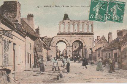 Quartiers Faubourg d'Arroux/Saint-Jean/Saint-André : la rue du Faubourg d'Arroux.