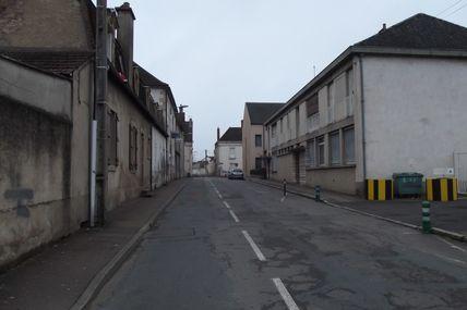 Quartier Marchaux : la rue de Dijon.