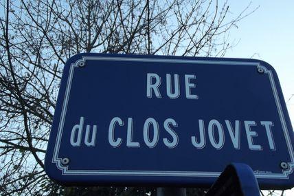 Quartiers Faubourg d'Arroux/Saint-Jean/Saint-André : la rue du Clos-Jovet.