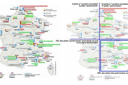 Les métropoles dans le système productif français