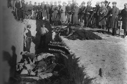 Je suis Miniconjou ( Massacre de Wounded Knee)