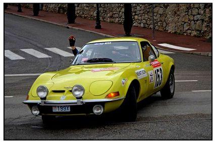 Rallye Monte-Carlo historique..2013, À Tournon s/Rhône