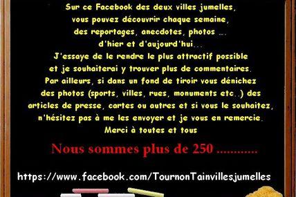 Tournon et Tain l'Hermitage ! sur facebook
