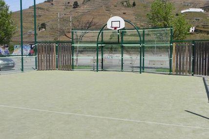 Espace basket à Tain-l'Hermitage.