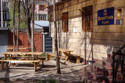 Petit déjeuner à Yerevan