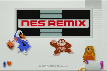 Screens NES Remix (eShop Wii U)
