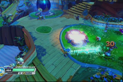 Skylanders Swap Force : Nitro Freeze Blade