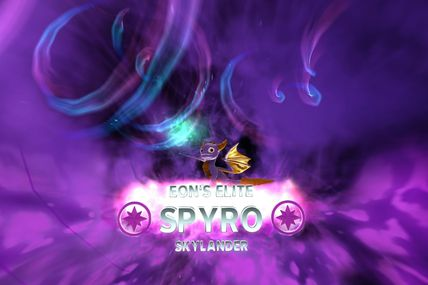 Skylanders Trap Team : Elite Spyro (Eon's Elite)
