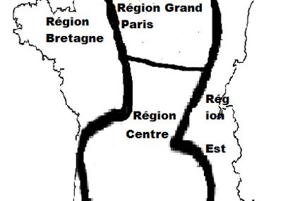 Ma proposition pour le redécoupage des régions