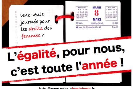 Osez le féminisme : Manif nocturne jeudi 19/09 21h Place de la Révolution