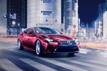 The Lexus Group Enthusiast - Lexus RC 300h Hybrid Coupe to Debut at Tokyo Motor Show