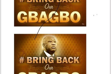 "ROYAUME UNI: LANCEMENT DE LA CAMPAGNE "" BRING BACK OUR GBAGBO""!"
