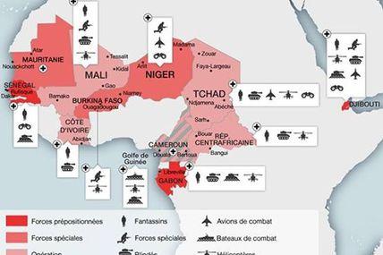 Afrique: Afrique-Francafrique-UE-OTAN-AFRICOM: L'Afrique, un continent militairement assiege par l'occident!