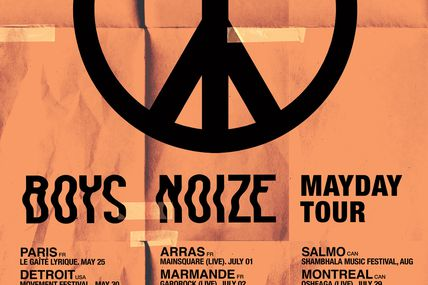 Mayday pour Boys Noize !