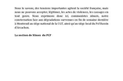 """COMMUNIQUE DE PRESSE : """"Casseurs de vitres"""""""