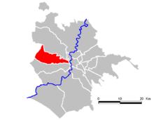 18e Arrondissement 137500 hab ( 14% d'étrangers)
