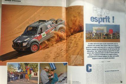 Le rallye Raid M'hamid Express 2016 dans Génération 4x4 et une belle vidéo du seul Patrol en course