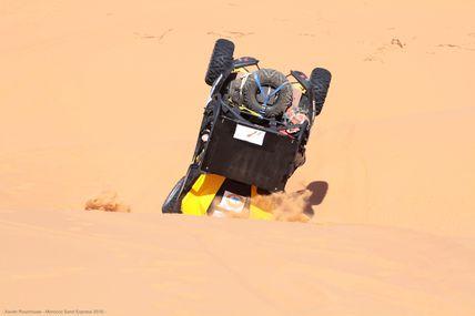 "ETAPE 2 Morocco Sand Express 2016; "" les dunes"":"