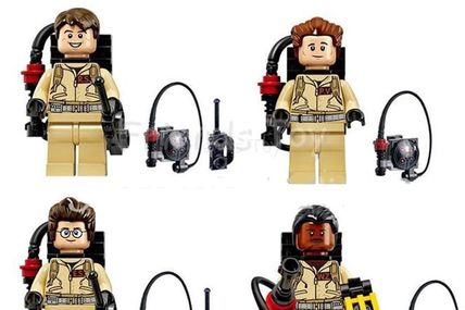 Minifigurines Ghostbusters - marque Xinh