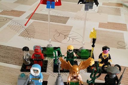 Minifigs SY283 Black Manta, Captain Cold...