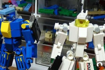 Lego mech - brick heaven