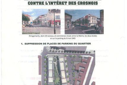 ALERTE SUR LE PROJET DU CENTRE VILLE : La mairie supprime le parking et donne le terrain au Promoteur !