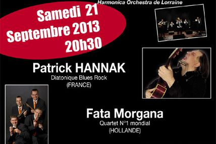 21 septembre 2013 : 13ème concert international d'harmonica
