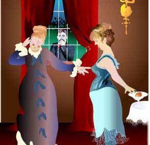 """Demain mercredi, présentation de la pièce à jouer entre soi: """"Un dîner à La Raspelière""""; tomorrow let's play together """"Dinner at the Raspelière"""""""