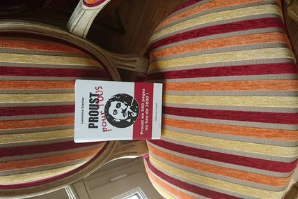 Proust, une question de style: Proust, it is all in the style: Au café de la Mairie à partir de 18h 30, ce mercredi 29 juin