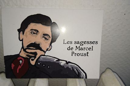 LES SAGESSES DE MARCEL PROUST en feuilleton; a series from THE WISDOMS OF MARCEL PROUST