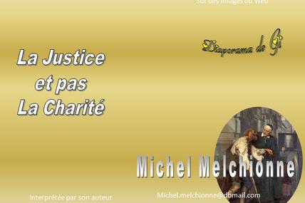 La justice et pas la charité