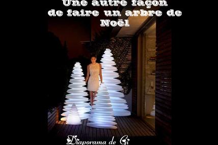 Une autre façon de faire un arbre de Noël