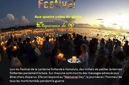 Festival aux quatre coins du globe