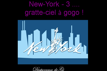 New York : Gratte ciel