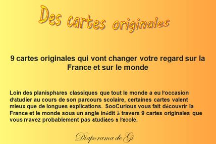 Des cartes originales