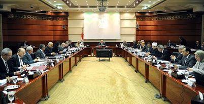 القوانين التى وافق عليها مجلس الوزراء فى الإجتماع الإسبوعي الثامن(17/4/2014)