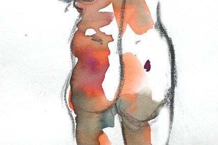 Modèle Vivant 5 minutes / Life-drawing 5 minutes
