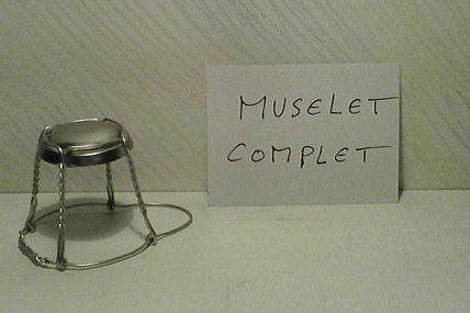 Dis ! c'est quoi un Muselet ?