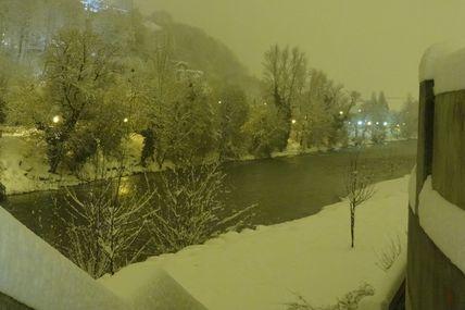 Albertville N°I sous la neige