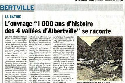 Albertville son histoire
