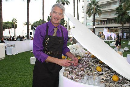Xavier Caille aux 50 ans du Grand Hôtel de Cannes