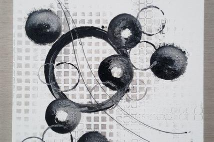 Tableau noir et blanc les tableaux de muriel - Tableau moto noir et blanc ...