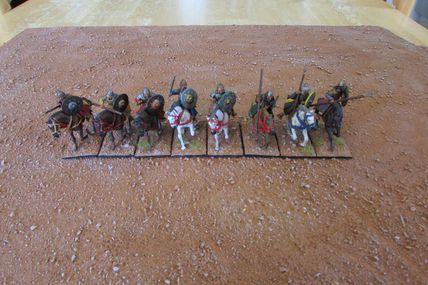 Arab Heavy Cavalry Gripping beast