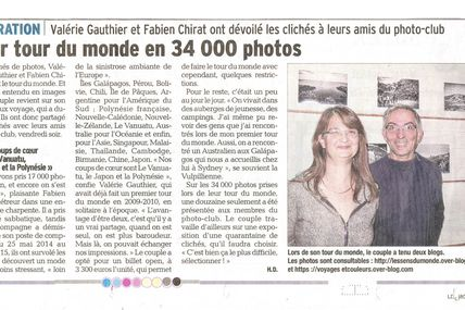 Article du DAUPHINE LIBERE