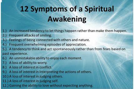 12 symptômes d'éveil spirituel / 12 symptoms of spiritual awakening