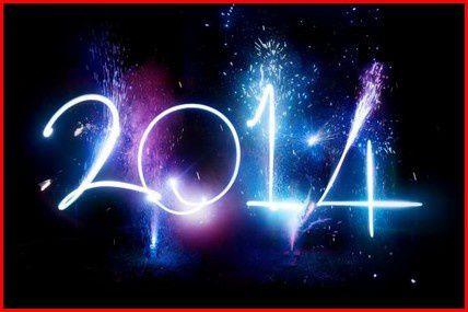 Tous nos voeux pour cette année nouvelle 2014