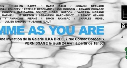 "o2 radio 91.3FM : Interview autour de l'exposition ""Comme as you are"""