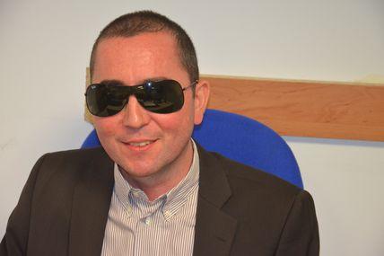 Raje Marseille - Nos Assos ont du Talent : Richard Sergent, président du comité de Marseille de l'association Valentin Haüy