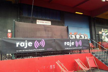 Raje Marseille - Partenariat : Visuels sur la Dock Session Reggae
